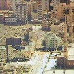 المسجد النبوي الشريف الجهة الشمالية باب المجيدي ومدخل الرومية وفندق بهاالدين وفندق النخيل قديما #المدينة_المنورة https://t.co/0XBH7NlGre
