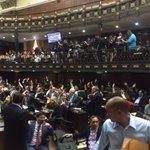Aprobado Proyecto de Acuerdo para emplazar al CNE a publicar cronograma sobre Referéndum Revocatorio. #SesiónAN https://t.co/N4yxGAIb6a