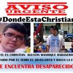 Desde que el régimen anunció su captura, no se sabe nada de Cristian Manrique, por favor hagamos mucha bulla. https://t.co/7UXXlRQMF1