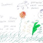 """Dino has some simple climate advice for world leaders. """"Preserve trees and plants""""???????? #KeepYourPromise #COP21 #Auspol https://t.co/FzEXFbOZnH"""