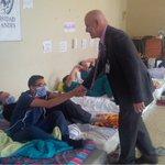 Hoy el rector de la ULA visitó dos veces a médicos que se mantienen en huelga de hambre desde ayer. https://t.co/jejo4qNgXw