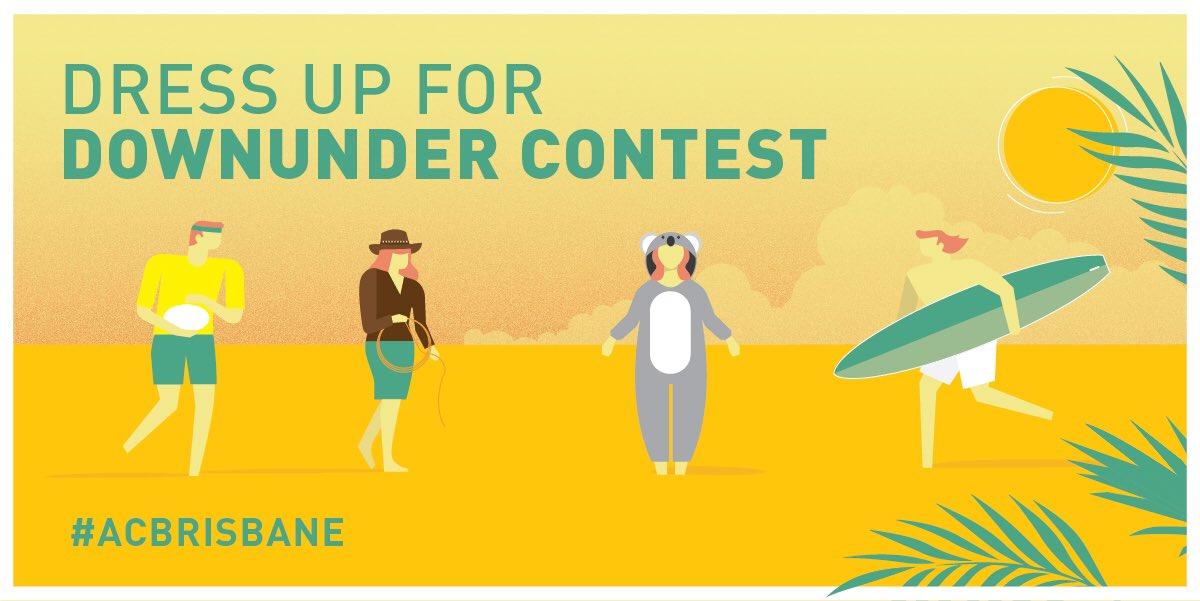 Announcing Dress up for Downunder contest to celebrate @AirCanada to Brisbane!