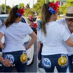 PAN y PRD dan como recompensa por el voto, tocarle las nalgas a una mujer que usa calcomanías en las bolsas traseras https://t.co/anjC3MUb0D