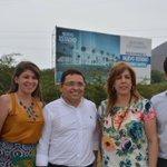 Directora @ClaraLuzRoldan realiza recorrido de escenarios en Santa Marta, sede de los Juegos Bolivarianos 2017. https://t.co/HEOJL0VWeV