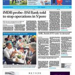 Top story, May 25: BSI Bank told to stop operations in #Singapore amid 1MDB probe. More on https://t.co/IEVsToAcJA https://t.co/wvY3r1gGa0