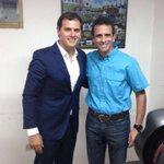Capriles se reúne con @Albert_Rivera y le plantea que el país lo que busca es #Revocatorio https://t.co/qeOUXODYX9