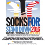 Staff at Pt.Loma/Hervey library in #SanDiego tmrw, 12:30pm. Stop by to chat, donate socks to help local #veterans! https://t.co/0h7PMMbO4h
