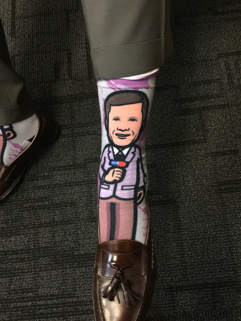 Sager socks... Dope. #SagerStrong https://t.co/PBAPkKJJnY