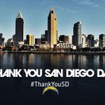 """Chargers Declare Wednesday, May 25 """"Thank You San Diego Day""""  MORE: https://t.co/yz4XUq8TGE https://t.co/ZoLBQn8s9J"""