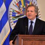 Luis Almagro: La única salida a la crisis de Venezuela es el referéndum https://t.co/eHSOxkSefw https://t.co/O0li5NqgaU