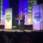 @BillChurchMedia speaking at #HTPreps. Jokes about our sports dept. guys wearing pants! https://t.co/wQ63UQhVnr