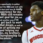 Nigel is coming back. #OnWisconsin https://t.co/0DrTjQuUdI