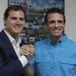 Reunión @Albert_Rivera y @hcapriles (Fotografía FB de Henrique Capriles) https://t.co/wS7uT0jDLd