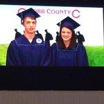 @Mitchell_1R Haley Schneider welcoming everyone to graduation https://t.co/V2m2pYbFQm