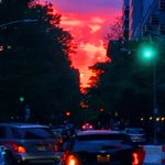 Another crazy sunset in #NYC https://t.co/QnEJO5aptU