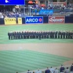 SD Gay Mens Chorus forgives sound man who messed up Natl Anthem, asking Padres to re-hire him. @10News 6:02p https://t.co/NAoMRPHF5w