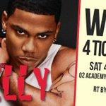LAST CHANCE TO #WIN! 4 TICKETS to see @Nelly_Mo play @o2academybham #Birmingham 4 Jun! RT by 11pm TONIGHT to enter! https://t.co/b88tSL9Ku1