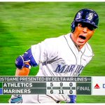 Get pumped Seattle! @leonys27martin showing how the @Mariners establish 1st place dominance! https://t.co/CuNBiw5nle