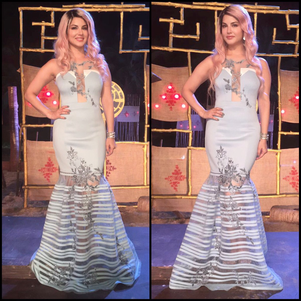 The whole mermaid look-Outfit by styled by makeup- &hair-