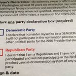 Anyone quoting #WAPrimary Dem results is lying. We caucused & Dem checkbox scared away #BernieSanders voters. https://t.co/Wbk57yhfUI