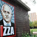 Sydney artist using Turnbull FIZZA posters to campaign for political change https://t.co/faHJm2nS4W https://t.co/pIU6UXV3LB
