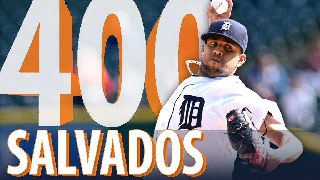Francisco Rodriguez llega a 400 juegos salvados en su carrera de Grandes Ligas! Muchas felicidades a el Kid! https://t.co/QfMQOw8pWQ