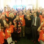 Our first #WorkersParliament delegation ready to head off! #springst https://t.co/nzf35jz9pu