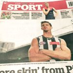 Pendles in Print: https://t.co/XAg4sXSerc The skipper on the back page of @theage today. #sidebyside https://t.co/qf8FR4wgaD
