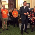 """Daniel Andrews: """"We made commitments on portable long service leave & were delivering"""" #springst #workersparliament https://t.co/z9ZKKO0wd5"""