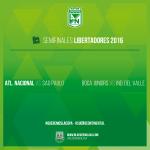 Y así quedaron las Semifinales de la Libertadores 2016. ¡Vamos todos juntos! #SueñoContinental #QueremosLaCopa https://t.co/hJi6gDNn04