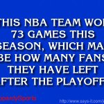 """Who are: the Golden State Warriors?"" #JeopardySports #NBAPlayoffs https://t.co/ccO9Vk2C4Z"