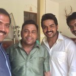 @Karthi_Offl Wish you a happy birthday and hearty welcome to the world of Twitter..:)) https://t.co/aUo5xcD7TM