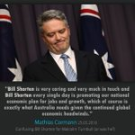 .@MathiasCormann confused Turnbull for Shorten in a telling gaffe that shows what the Libs think of the PM #AusPol https://t.co/2kRQeIgBCM