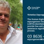 For information, advice and legal support about the Victorian Expungment Scheme. #rightingwrongs Contact details: https://t.co/nLPT7D8ifz