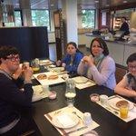 Even met mijn vrienden van St Philadelphia lekker lunchen bij @RaboRegioDH  Dank @HaagseUitdaging voor het kontakt. https://t.co/47uKgD82O0