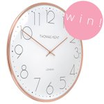 ★COMPETITION★ #Win this not-yet-released Oyster Copper Clock from Thomas Kent, worth £50! 💕 Follow & RT! https://t.co/ssQ9MfMnZE