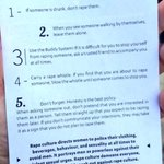 5 Rape Prevention Tips. RT to save a life. https://t.co/BohAoWspe5