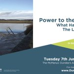 3/3 #DundeeArtsCafe :: Power to the People – What Happens When The Lights Go Out on Tues 7th June 6pm @McManusDundee https://t.co/mvkSQLOBE5