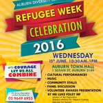 Kick off Refugee Week with cultural performances, music and more! https://t.co/X2rX3pS3QO
