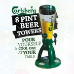 Probably the best way to share a beer with friends #carlsberg #beertower #8pints #beer #friends #harrysbar #wigan https://t.co/Jbsy5NYjJC