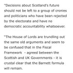 "SNP MP @PeteWishart says report indicates ""spectacular failure"" of committee to grasp devo https://t.co/UoA0O9caR5"