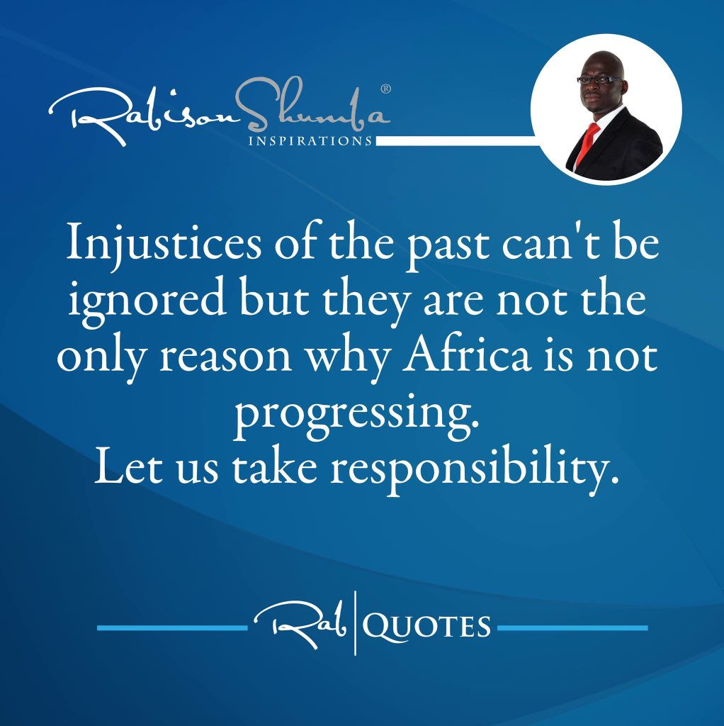 Past injustices can't be the ONLY reason #Africa is in such a mess. Lets assess the recent past too. #HappyAfricaDay https://t.co/GwChM6jaBY