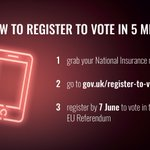 Two important diary dates – 7 June to register to vote & 23 June for #EURef #youcantmissit https://t.co/W4m5dWJzRv https://t.co/r8sIP1fOqc