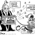 New Zapiro cartoon depicting President Zuma & NPA boss Abrahams slammed for being racist. What are your thoughts? https://t.co/jkIbpOE0YI