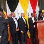 Youth MPs took oath to serve young people in Uganda. @NrmYouthleague @IYFtweets @IYOPUG @Parliament_UG @UyonetUg https://t.co/ivsG2MkOIH