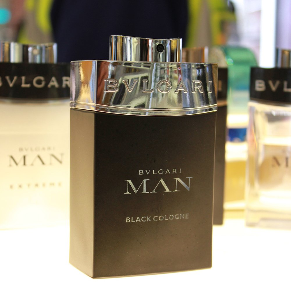 For him: Bulgari Man in Black: Pick up this fresh scent @WorldDutyFree in time for your hol!