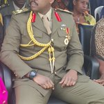 Major General Muhoozi Kainerugaba waits for his pips at a decoration ceremony for recently promoted UPDF officers https://t.co/RTdHOGBqiw