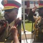 Decorations done and Muhoozi is now, officially a Major General. https://t.co/cAZ1D39fsq