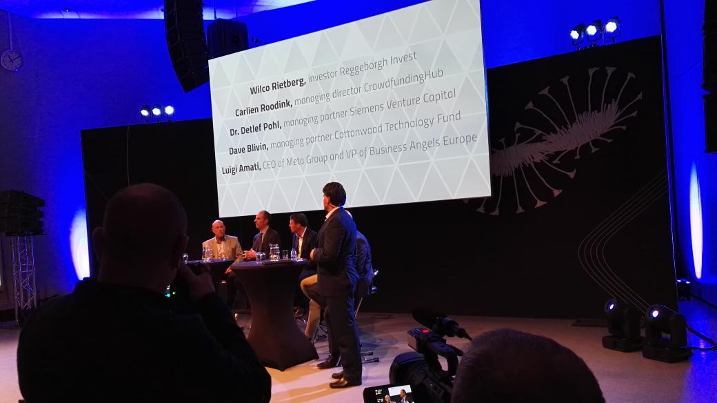 Very strong panel session on financing high tech startups #TFoHT #utwente #startupfestEU https://t.co/e8nJL3UCdJ
