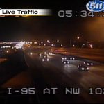 Crash on I-95 NB and NW 103rd St #TRAFFIC #MIAMI https://t.co/wiKF9gOv5P